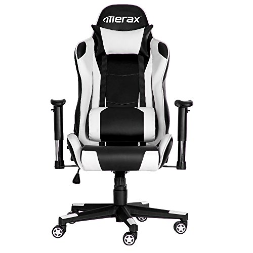 41C1PEmgcEL - Merax High-Back Executive Chair PU Leather Office Desk Chair