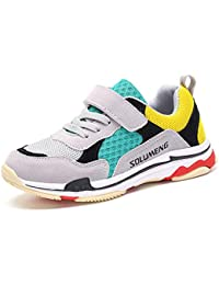Kids Running Shoes Boys Girls Lightweight Athletic Tennis Casual Sneakers