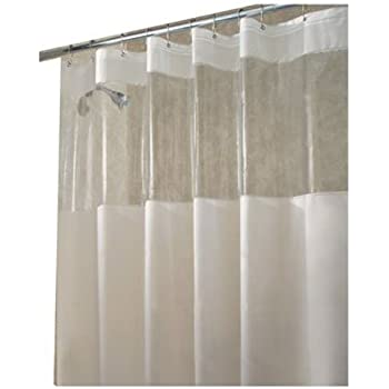 Amazoncom InterDesign Hitchcock Shower Curtain 72 x 72 Clear