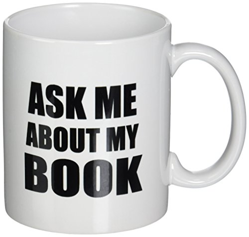 3dRose mug 161909 1 Book Advertise Writing Writer Self Promotion Promote