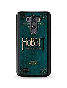 LG G3 Case Cover, The Hobbit The Battle of the Five Armies Film Customized Design Dustproof LG G3 Case Cover Phone Accessary