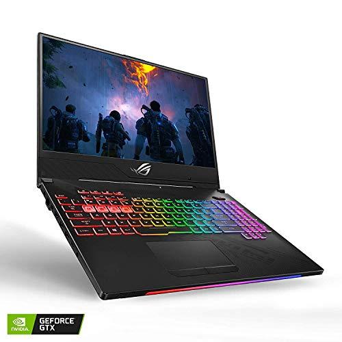 "2019 ASUS ROG Strix Hero II 15.6"" FHD Gaming Laptop, Intel 6-Core i7-8750H, 16GB RAM, 128GB SSD Boot + 1TB HDD, NVIDIA GeForce GTX 1060 6GB GDDR5, Backlit Keyboard, Windows 10 (Renewed)"