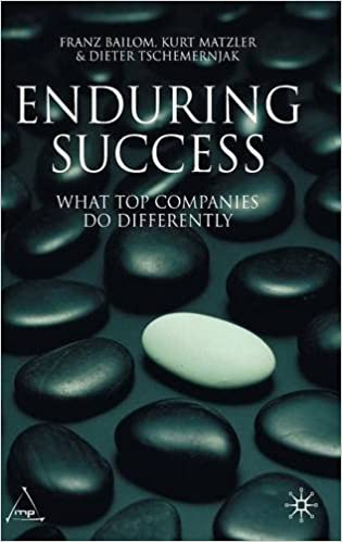 Read online Enduring Success: What Top Companies do Differently PDF, azw (Kindle), ePub