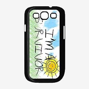 I'm a Survivor Plastic Phone Case Back Cover Samsung Galaxy S3 I9300 by icecream design