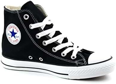 Karmaloop Converse The Chuck Taylor All Star Core Hi Sneaker Black (6.5 D(M) US, Black/White)