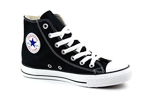 Converse Unisex Chuck Taylor All Star High Top Sneakers Black/White 9 B(M) US Women / 7 D(M) US Men (Converse Woman Taylor)