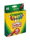 Crayola Jumbo Crayons, Assorted Colors, Great
