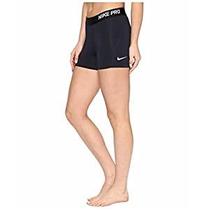 Nike Women's Pro Cool 3-Inch Training Shorts (Navy/Small)