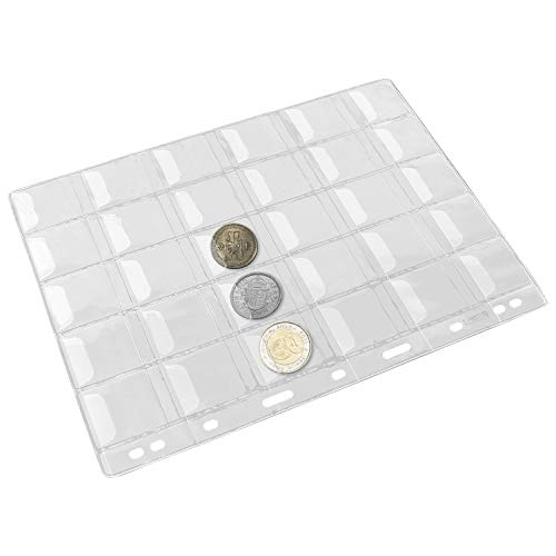 coin collector plastic sheets