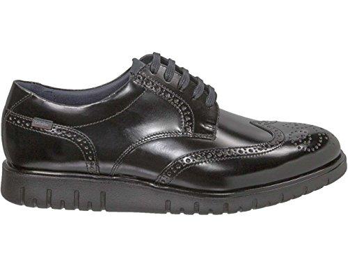 Callaghan Amon, Zapatos de Cordones Oxford para Hombre Negro (Black)