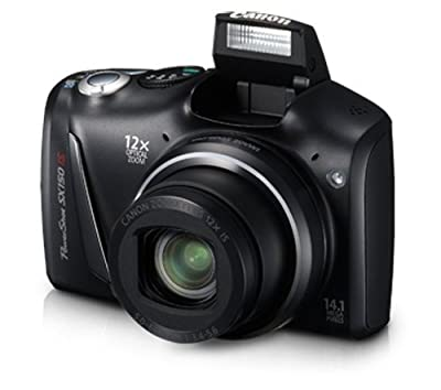 Canon PowerShot SX150 IS 14.1 MP Digital Camera with 12x Wide-Angle Optical Image Stabilized Zoom with 3.0-Inch LCD