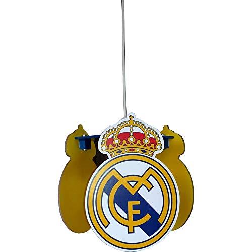 Real Madrid - Lámpara de techo, diseño del equipo de fútbol ...