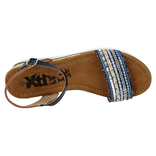 XTI ,  Damen Sandalen Blau
