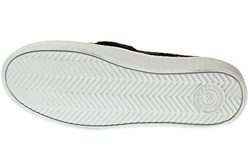 Ca Shott 17052 - Damen Schuhe Sneaker Slipper - 310-black-anaconda, Größe:39 EU