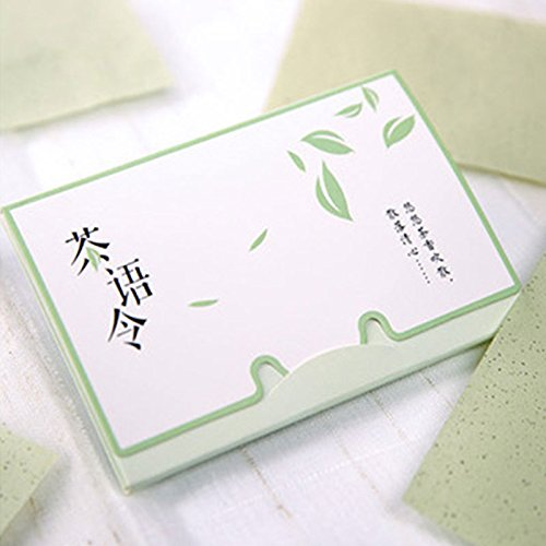 Natural Green Tea Essence Oil Absorbing Tissues - 80/100 Counts, Premium Face Oil Blotting Paper for Oil control, Prevention of Blackheads and Acne, Shrink Pores Oily Facial Skin Daily Use(100 sheets) UxradG