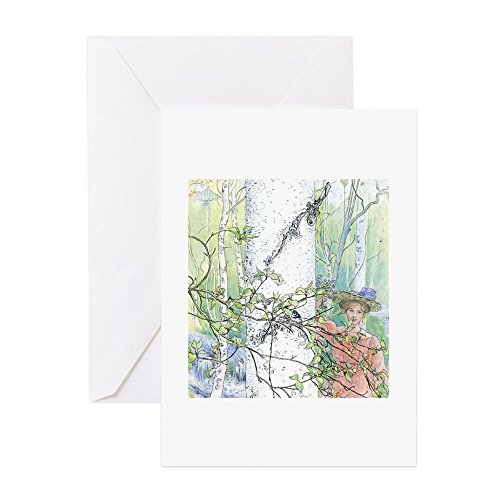 CafePress - Swedish Spring - Greeting Card, Note Card, Birthday Card, Blank Inside ()