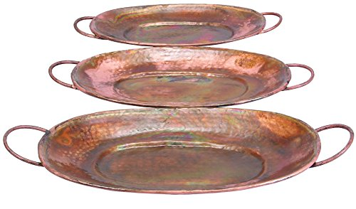 (Deco 79 Metal Tray, 27 by 24 by 22-Inch )