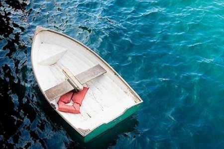 手漕ぎボートI 102 cms X 66 cms