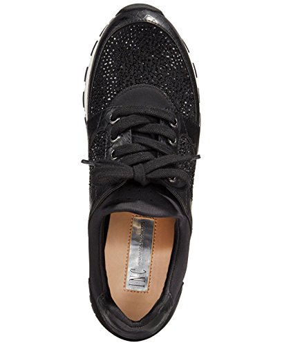 Size Fabric 0 INC Black negro 10 Womens Pakiss Concepts International Low Top Lace wwqIzgP