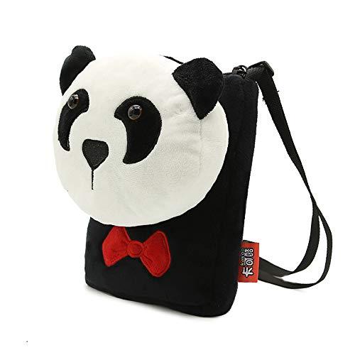 tracolla felpa Borsa a mano cartone animato e XLXWJJILY per Bello ragazze Borse a a principessa Borse panda spalla H4wxU0qY