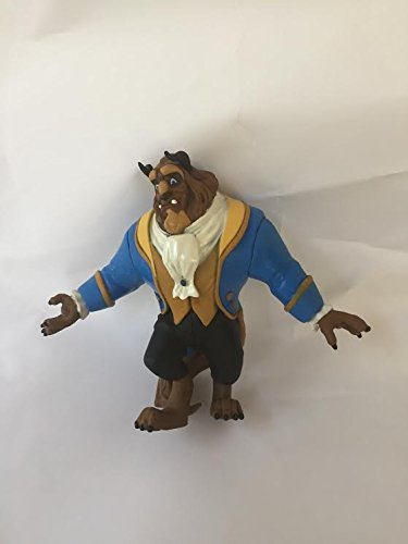 Disney Beauty & the Beast Beast Loose Pvc Figure Figurine Cake Topper Toy Style may Differ