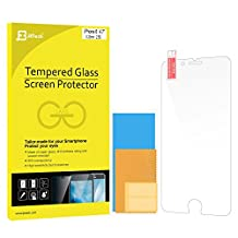 "iPhone 6s Screen Protector, JETech Premium Tempered Glass Screen Protector Film for Apple iPhone 6 / 6s 4.7"" - 0800"