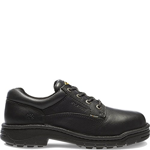 Wolverine Men's Exert Nonstl Dura SR OXF-M, Black, 11 M (Wolverine Oxford Shoe)