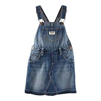 OshKosh B'gosh Denim Jumpsuit for Girls - 12 Years, Blue