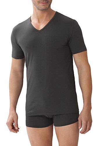 Zimmerli Pure Comfort 1721432 Shirt V-Neck graphite Herren