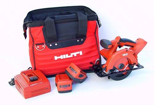 Hilti 3482502 SCW 18-A CPC 18-volt Cordless Circular Saw with Tool Bag