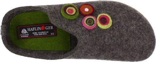 Haflinger Kanon Classic Slippers Womens Grey NNSD4Tqx0