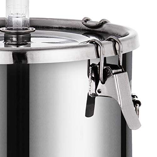 VEVOR 7 Gallon Stainless Steel Brew Fermenter Home Brewing Brew Bucket Fermenter With conical base Brewing Equipment by Vevor (Image #5)