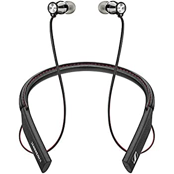 Sennheiser HD1 In-Ear Wireless Headphones, Bluetooth 4.1 with Qualcomm Apt-X and AAC, NFC one touch pairing, 10 hour battery life, 1.5 hour fast USB ...