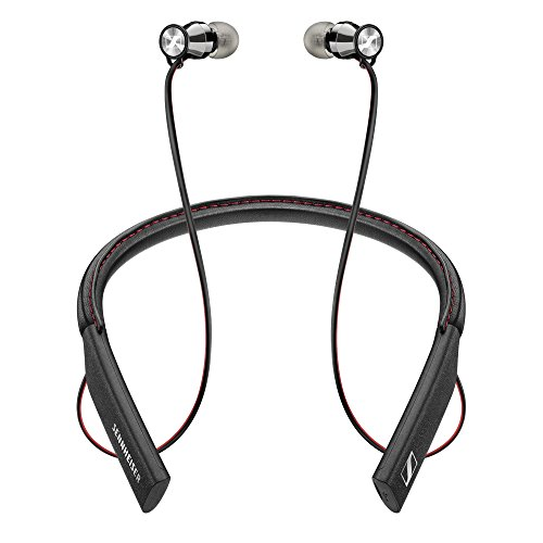 Neckband Head (Sennheiser HD1 In-Ear Wireless Headphones, Bluetooth 4.1 with Qualcomm Apt-X and AAC, NFC one touch pairing, 10 hour battery life, 1.5 hour fast USB charging, multi-connection to 2 devices)
