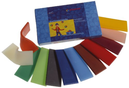 Stockmar Modeling Beeswax - 12 Assorted Sheets