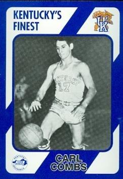 Carl Combs Basketball Card (Kentucky) 1989 Collegiate Collection #273