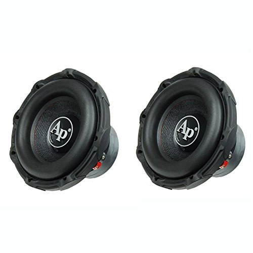 "AudioPipe TXX-BD2-10 High Power 1200W 10"" 4 Ohm DVC Car Subwoofer, (2 Pack)"