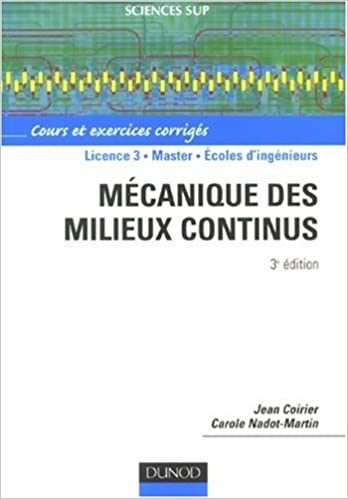 Livres gratuits en ligne Mécanique des milieux continus pdf, epub ebook