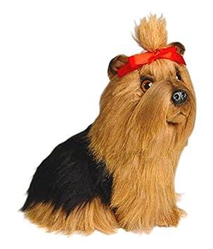 Piutrè 1301 28 cm Sentado de Peluche, diseño de Cachorro de Yorkshire Terrier