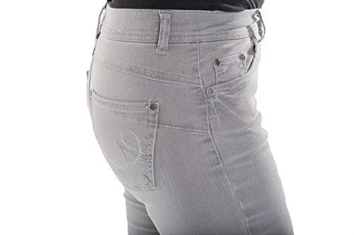 Plateado Para Montana Pantalón Mujer Anna gwIqBpw