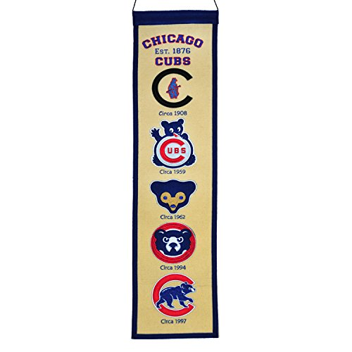 Winning Streak MLB Chicago Cubs Fan Favorite Banner, One Size, Multicolor