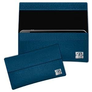 SIMON PIKE Cáscara Funda de móvil NewYork 1 azul petróleo Nokia Lumia 620 Fieltro de lana