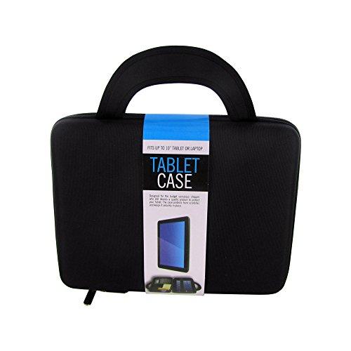 Kole Imports Tablet & Laptop Storage Case With Handles