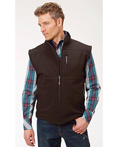 Roper Denim - Roper Men's Concealed Carry Softshell Vest Black Large
