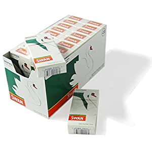 De un cisne mentol fina precortada de filtros - , 40 paquetes (2 cajas de , 20 paquetes) por Trendz