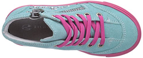 Richter Kinderschuhe Fedora 3143-521 Mädchen Hohe Sneakers Grün (jade  5610)