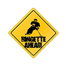 Ahead Ringette - Sports [ Decorative Crossing Sign Wall Plaque ]