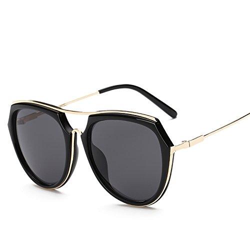 Blackash Trendy De Retro De Recubrimiento Retro Gafas Sol Tendencias Mujeres De Hipster Nuevas De Sol Moda Gafas Gafas Moda Color Sunglasses WNLSG Gafas Gold wgAan