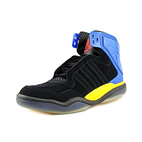 Adidas Tech Street Mid #Q32932 (Blk/Blu/Ylw) dgzTYhY
