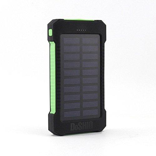 41 opinioni per DoSHIn Caricatore Solare 10000mAh Solar Power Bank Doppia Porta USB